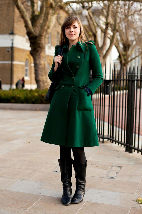 green | We Love Street Style