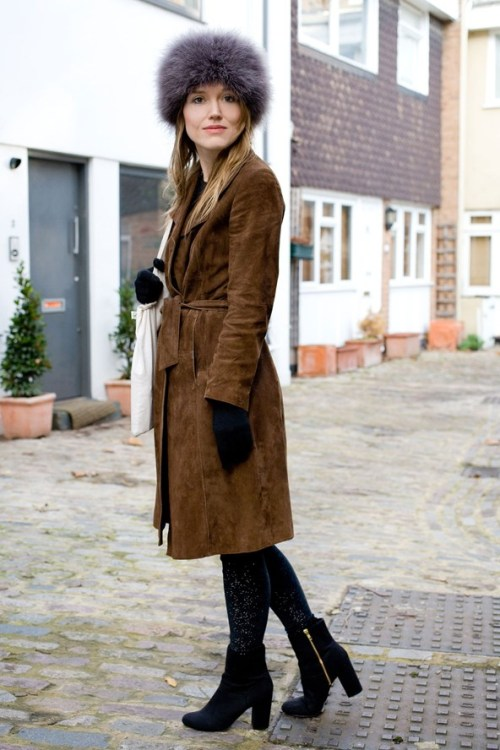 london vintage coat