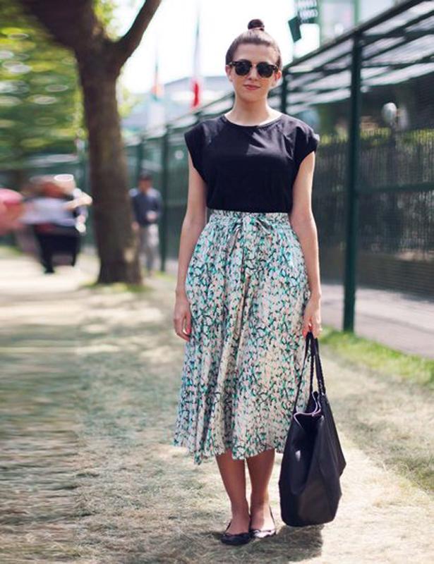 Midi φούστα  Φόρεσε την σωστά - BORO από την ΑΝΝΑ ΔΡΟΥΖΑ - boro.gr 94ae7b2c2e0
