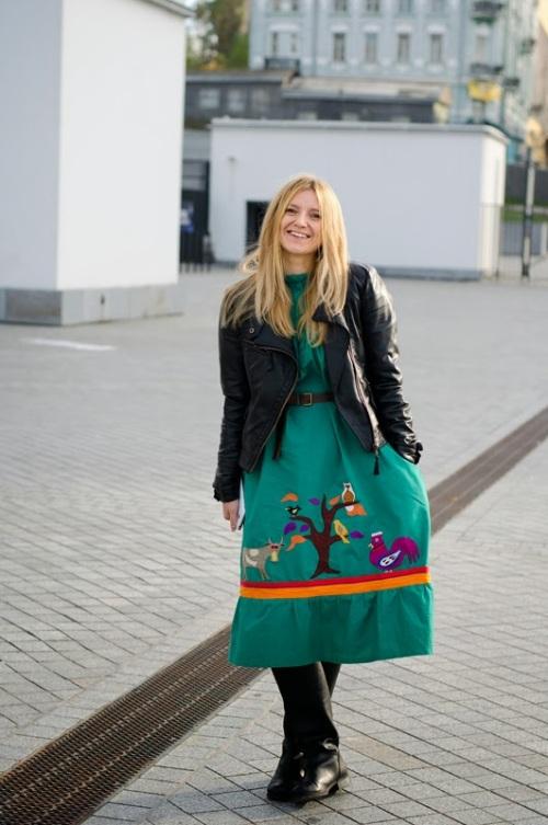 Kiev Street Style via International Street Style