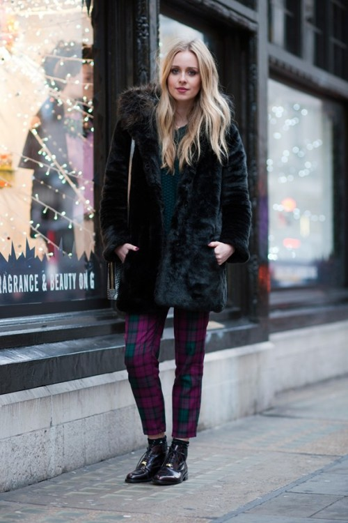 Photo by Suzanne Middlemass via International Street Style