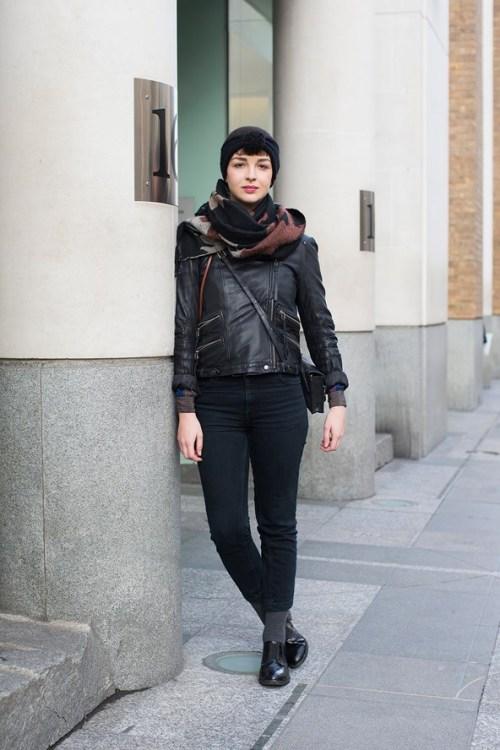 Photo by Dvora via Int Street Style