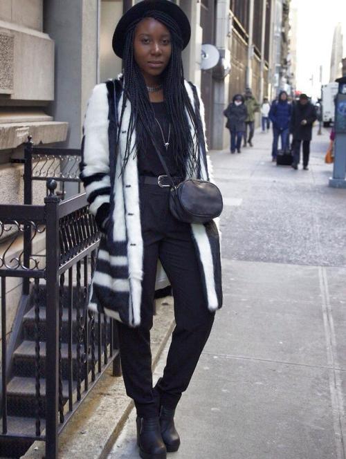 Sarah Ngwenya via International Street Style