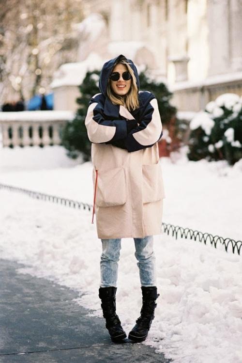 Vanessa Jackman via International Street Style - New York