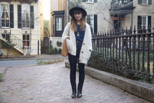 Lauren Winter on International Street Style - Savannah