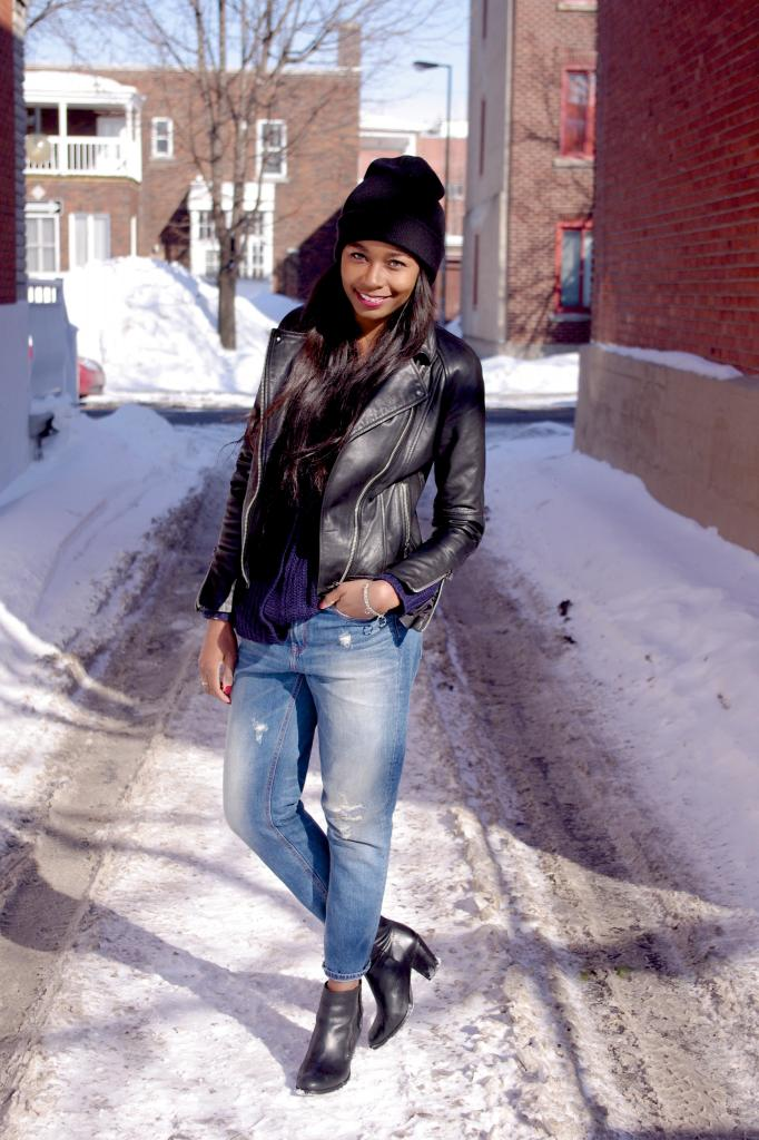 Montreal Street Style Winter Winter Street Style From