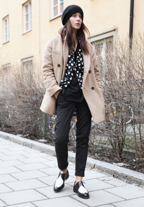 Emma Elwin on International Street Style - Stockholm