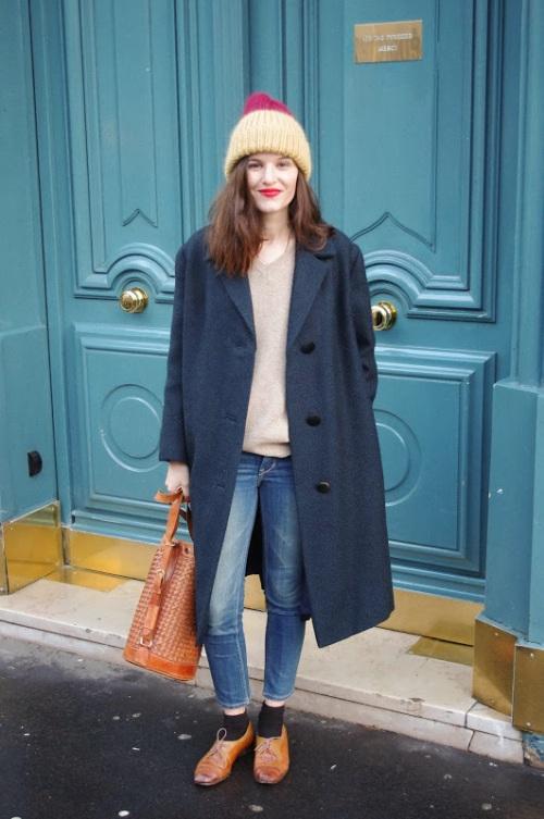 Lady Moriarty on International Street Style - Paris