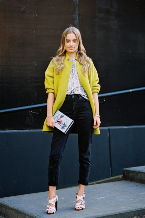 Vanessa Jackman on International Street Style - London