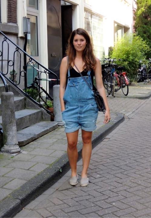 Bohemian Chic on International Street Style - Amsterdam