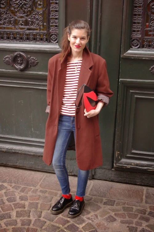 Lady Moriarty on International Street Style - Paris