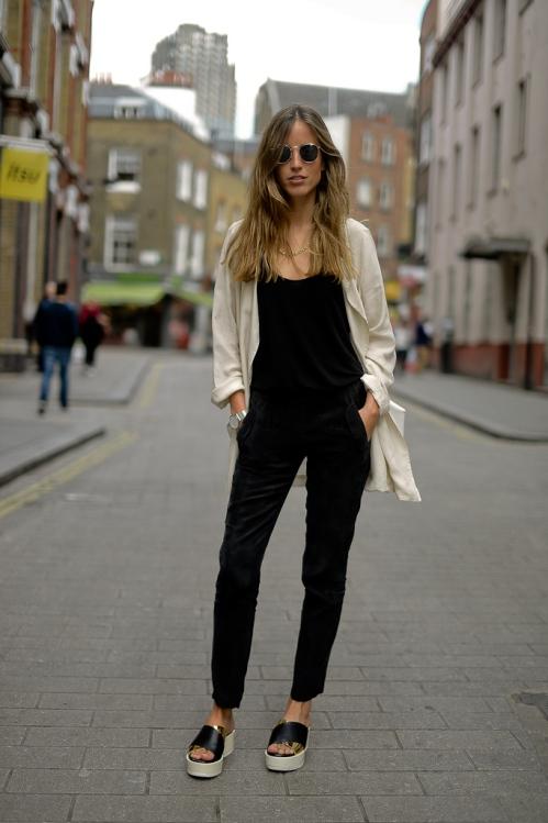Berta Bernad-International Street Style-London