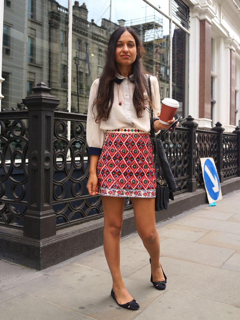 London Street Style With Camille Charrière At London: We Love Street Style